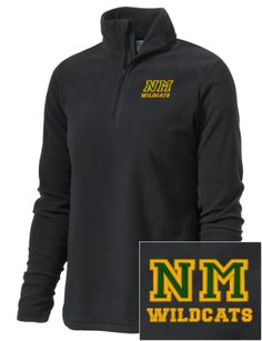 Northern Michigan University Embroidered Columbia Women's Crescent Valley Fleece 1/2 Zip Pullover Marquette Michigan