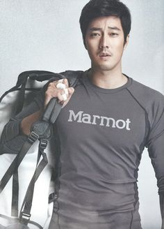 So Ji Sub. I don't know what the heck a Marmot is, but looking at this picture, I suddenly want one. Desperately.