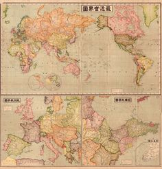 World Map 1914