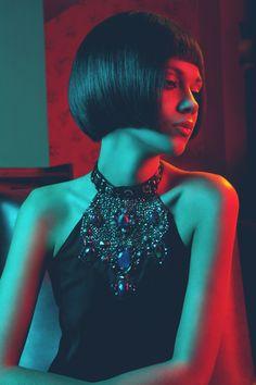 Michalis Anousakis Hair Design W/2012 by Vasilis Topouslidis, via Behance