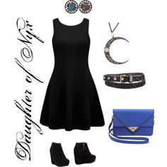 """""""Daughter of Nyx"""" by xylophobian on Polyvore"""