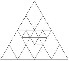 Q: How many triangles? A: 41 Triangles Mental Math Tricks, Triangles, Fun Brain, Brain Games, Math Questions, Geometry Questions, Math Challenge, Logic Puzzles, Mind Puzzles