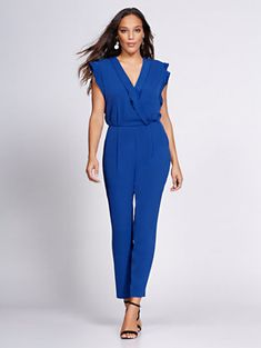 01700441f9a Shop Gabrielle Union Collection - Wrap Jumpsuit. Find your perfect size  online at the best. New York   Company