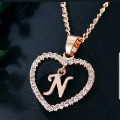 Letter Pendant Necklace, Letter Pendants, Love Necklace, Necklace Types, Initial Necklace, Arrow Necklace, Gold Collar, Girls Necklaces, Jewelry Necklaces