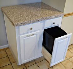 Best Of Trash Can Roll Out for Cabinets