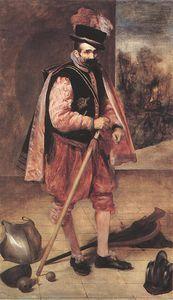 Jester Don Juan d Autriche - (Diego Velazquez)