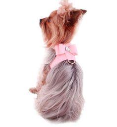 Pink Dog Harness- Designer Pet Harness, Designer Dog Harnesses, Fancy Harness