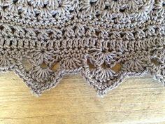 Crochet Edge. Color Pop Granny Blanket - Pattern <3 ✿Teresa Restegui http://www.pinterest.com/teretegui/✿