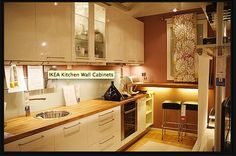 Ikea kitchen with table