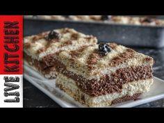 Το γλυκό της Γιορτής μου-Εύκολο δροσερό καλοκαιρινό γλυκό-Amazing chocolate pudding for my name day - YouTube Greek Desserts, Greek Recipes, No Bake Cake, Banana Bread, Food And Drink, Cooking Recipes, Ice Cream, Cupcakes, Sweets