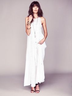 Free People Kristin's Limited Edition White Story Dress at Free People Clothing Boutique