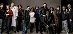 GANGS ALL HERE  From left: Michael Imperioli (Christopher Moltisanti), Edie Falco (Carmela Soprano), James Gandolfini (Tony Soprano), Lorraine Bracco (Dr. Jennifer Melfi), Robert Iler (Anthony A.J. Soprano), Jamie-Lynn Sigler (Meadow Soprano), Ilene Landress (executive producer), Steven Schirripa (Bobby Bacala Baccalieri), Dominic Chianese (Corrado Uncle Junior Soprano), Aida Turturro (Janice Soprano), Steven Van Zandt (Silvio Dante), Tony Sirico