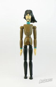George Harrison Yellow Submarine Art Doll  Unusual by ArtDuritos
