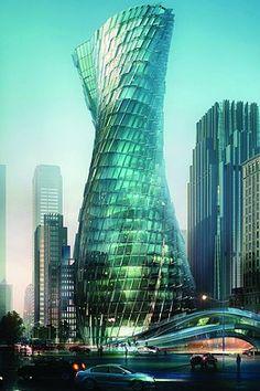 Cheongsan Tower, Shanghai proposal