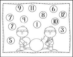 Free: The Snowy Day: Peter Labeling Sheets. Freebie For A