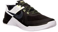 5d25e08cfd2ece Nike Women s Metcon 1 Training Shoes 813101 001 Black White Volt Grey