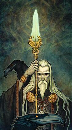 Odin by Johan Egerkrans
