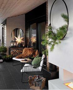 ideas backyard porch decorating potted plants for 2019 Small Terrace, Small Backyard Gardens, Backyard Patio, Rooftop Garden, Yard Landscaping, Landscaping Ideas, Outdoor Rooms, Outdoor Living, Outdoor Decor