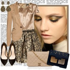 """Earings & Eyeshadow"" by alaria on Polyvore"