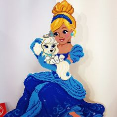 Cinderella hama perler beads - Toy Fair 2015 (London)