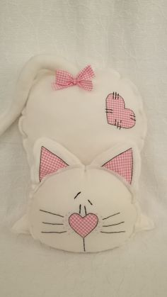 Cats Diy Toy Gatos 53 Neue Ideen, Informations About Cats Diy To Sewing Toys, Baby Sewing, Sewing Crafts, Sewing Projects, Diy Cat Toys, Fabric Toys, Fabric Crafts, Sewing Stuffed Animals, Cat Pillow