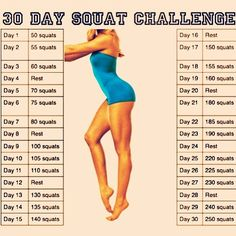 Squat Challenge — If I can ever move again....