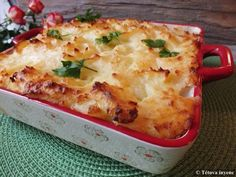 Halas pite | Tétova ínyenc Lasagna, Hamburger, Ethnic Recipes, Food, Lasagne, Essen, Hamburgers, Yemek, Meals