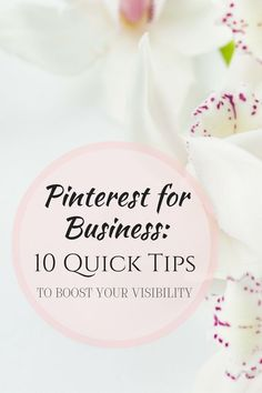 Struggling to be seen on Pinterest? Make sure you are doing these 10 things! www.bluefairystudios.co Pinterest for Business: 10 Quick Tips to boost your visibility!