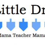 Teacher Mama: Five Little Dreidels: A Hanukkah Rhyme