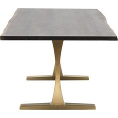 Toulouse dining Table, Titan Gold Nuevo