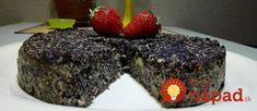 Bez múky a cukru, zmiešaný za 3 minúty: Magický makový koláčik, z ktorého nepriberiete ani gram! Gluten Free Sweets, Gluten Free Cakes, My Recipes, Sweet Recipes, Cooking Recipes, Healthy Cake, Something Sweet, Sweet Desserts, Food Inspiration
