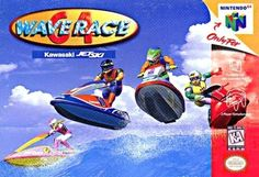 Wave Race 64 (N64) - just picked this up again. I am amazed by the production quality of this game. Wow.