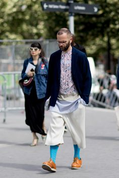 Paris Fashion Week Men's Street Style Spring 2018 Day 45 - The Impression