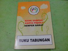 Trash Bank account book for customer :D