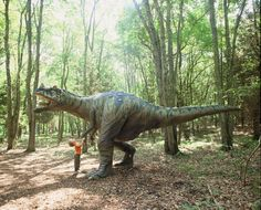 The Dinosaur Place: great attraction for kids in CT!