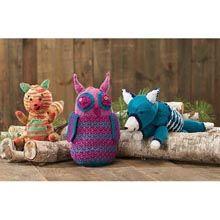 Woodland Pals Trio  Knit Yarn Kit- Willow Yarns