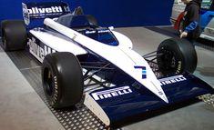 Brabham BMW BT54 Turbo 1985 do brasileiro Nelson Piquet. Foi o último ano dele na equipe inglesa e de parceria com Bernie Ecclestone.