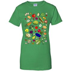 Vegetable Soup Recipe T-Shirt 100% Cotton. Imported. Machine wash cold with like colors, dry low heat. Lightweight, Classic fit, Double-needle sleeve and bottom hem, Unisex sizing; consult size chart