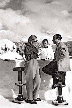 St. Moritz, January 1947