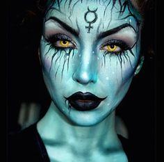 BLUSHO blog: Halloween - Scary Makeup Inspiration