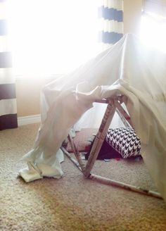 Newspaper Fort, Kid Friendly Friday—How I keep my busy little boy busy: Little Paper Dog