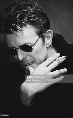 News Photo : English singer David Bowie in November 1995.