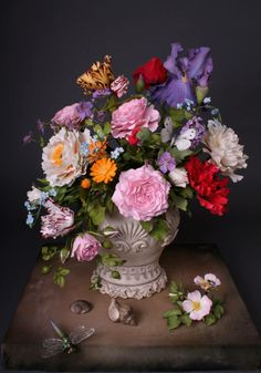Sugar Flowers by Olesya Golumbevskaya