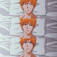 Ichigo And Rukia, Bleach Anime, Anime Guys, Eye Candy, Manga, Board, Room, Boyfriends, Bedroom