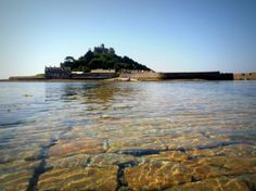 The causeway at St Michael's Mount in better shape, July 2014