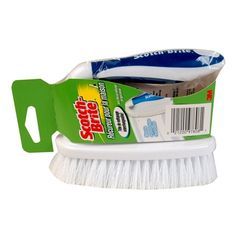Shop Scotch-Brite Poly Fiber Stiff Tile and Grout Brush at Lowe's Canada. Find our selection of cleaning brushes at the lowest price guaranteed with price match. Scotch, Household Cleaning Supplies, Grout, Brush Cleaner, Clean House, Fiber, Walmart, Brushes, Handle