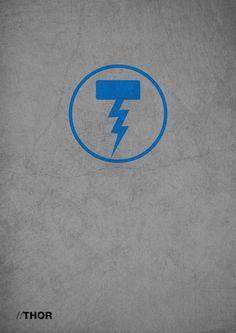 Heroes & Villains Poster Designs by Joshua Hurst, via Behance
