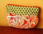 Retro Paisley Essentials Bag