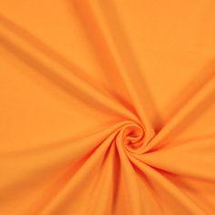 Jersey Interlock 29 - Coton - jaune orangé - Haute qualité Made in Germany - Poids : 184 g/m² - 14,95 €/m