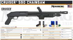 O.F. Mossberg & Sons, Inc. - Cruiser® 590 Chainsaw
